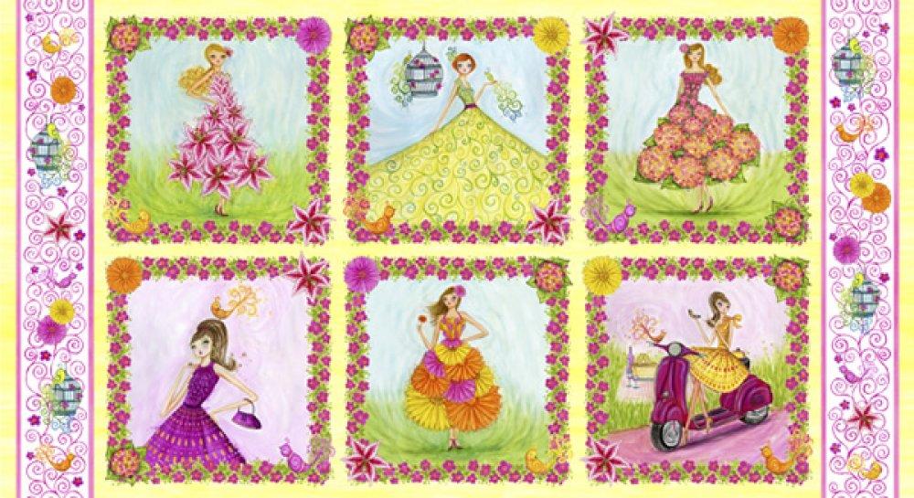 Girly Girl Panel  E60 1282 Multi