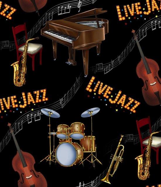 Live Jazz Black