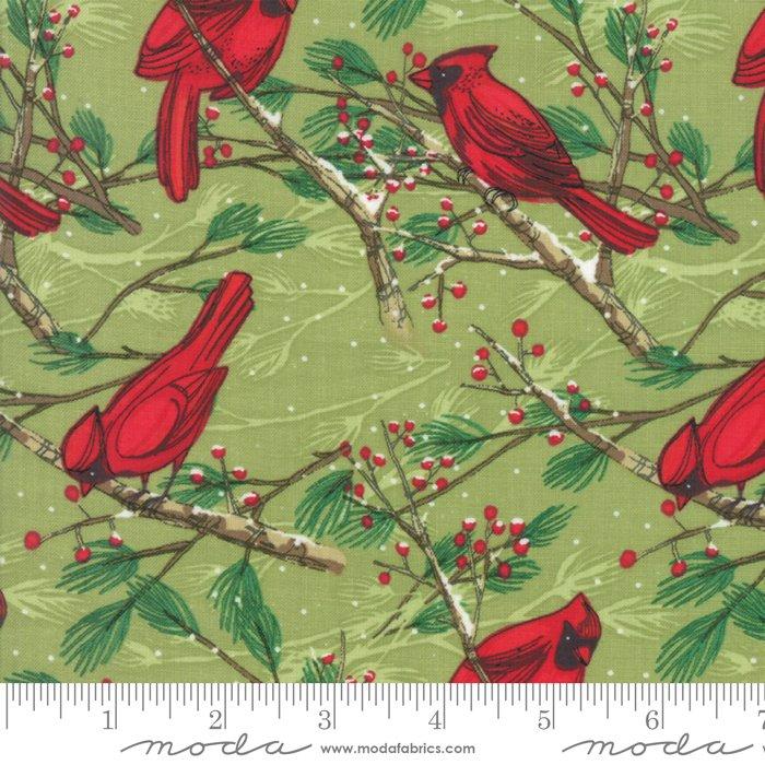 Splendid Cardinals Leaf