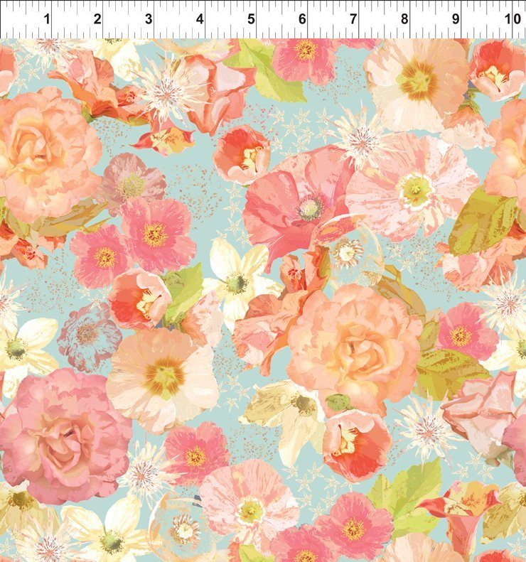Believe Large Floral Multi
