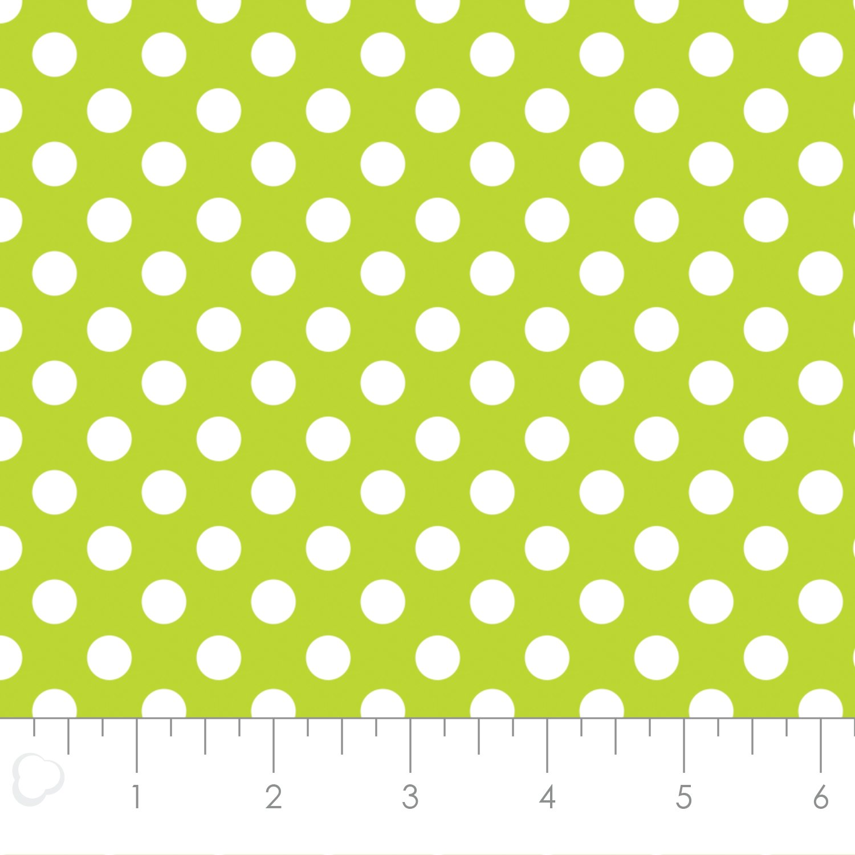 AhoyMatey Dots Lime