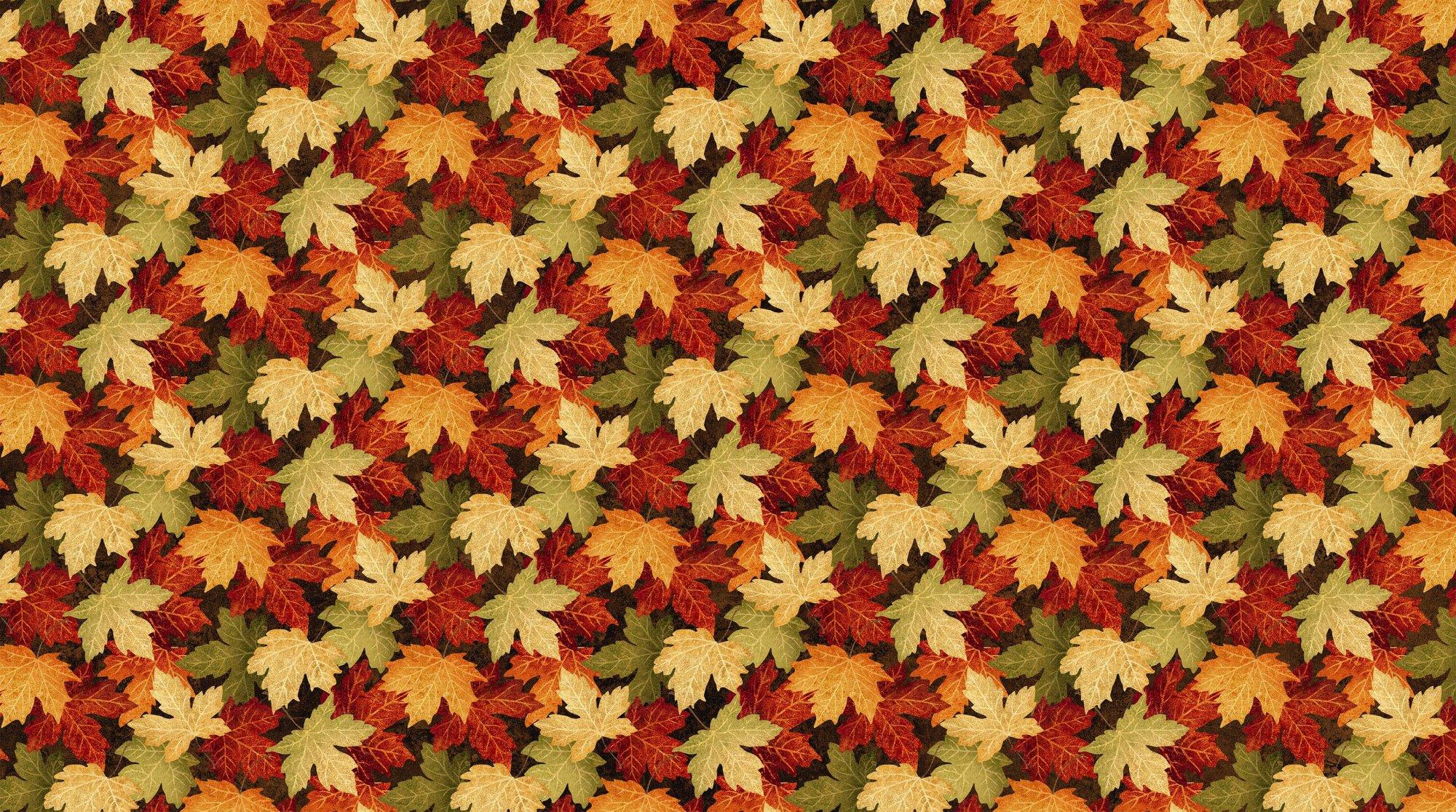 Maplewood Leaves Large