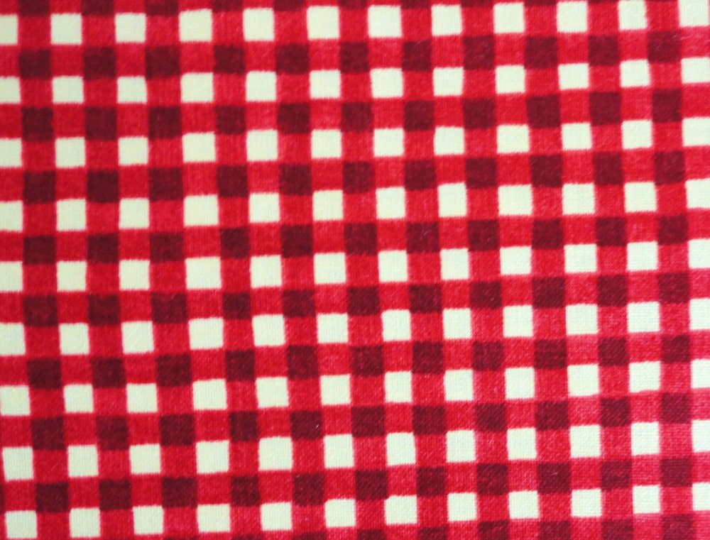 Over the Moon Red Check  93058-533