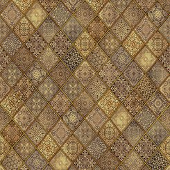 Heavenly Filigree Patch Brown