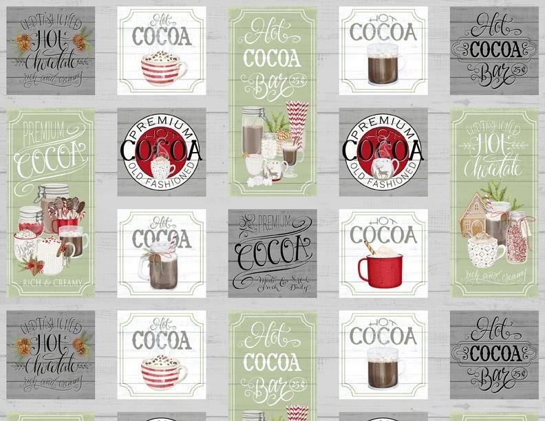 Hot Cocoa Bar Panel
