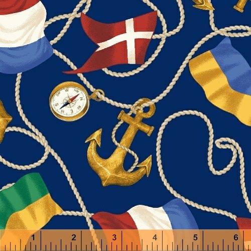 Sail Away Anchors Flags
