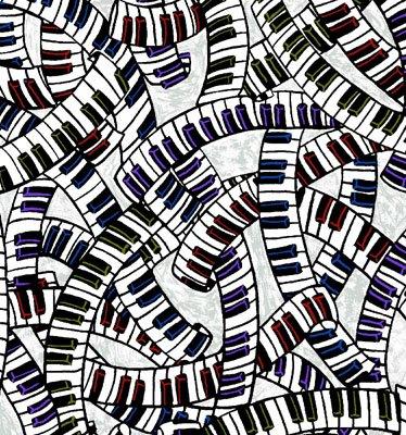 Funky Jazz Piano Keys