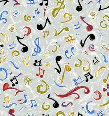 Funky Jazz Music Notes