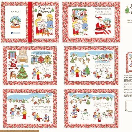 Storybook Christmas Panel