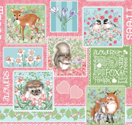Forest Friends Patchwork
