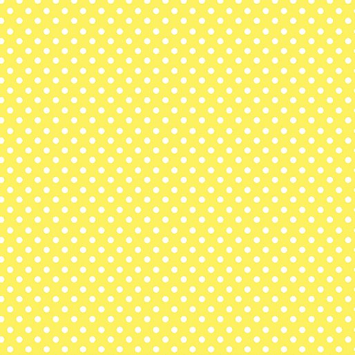 Henrietta Dot Yellow White