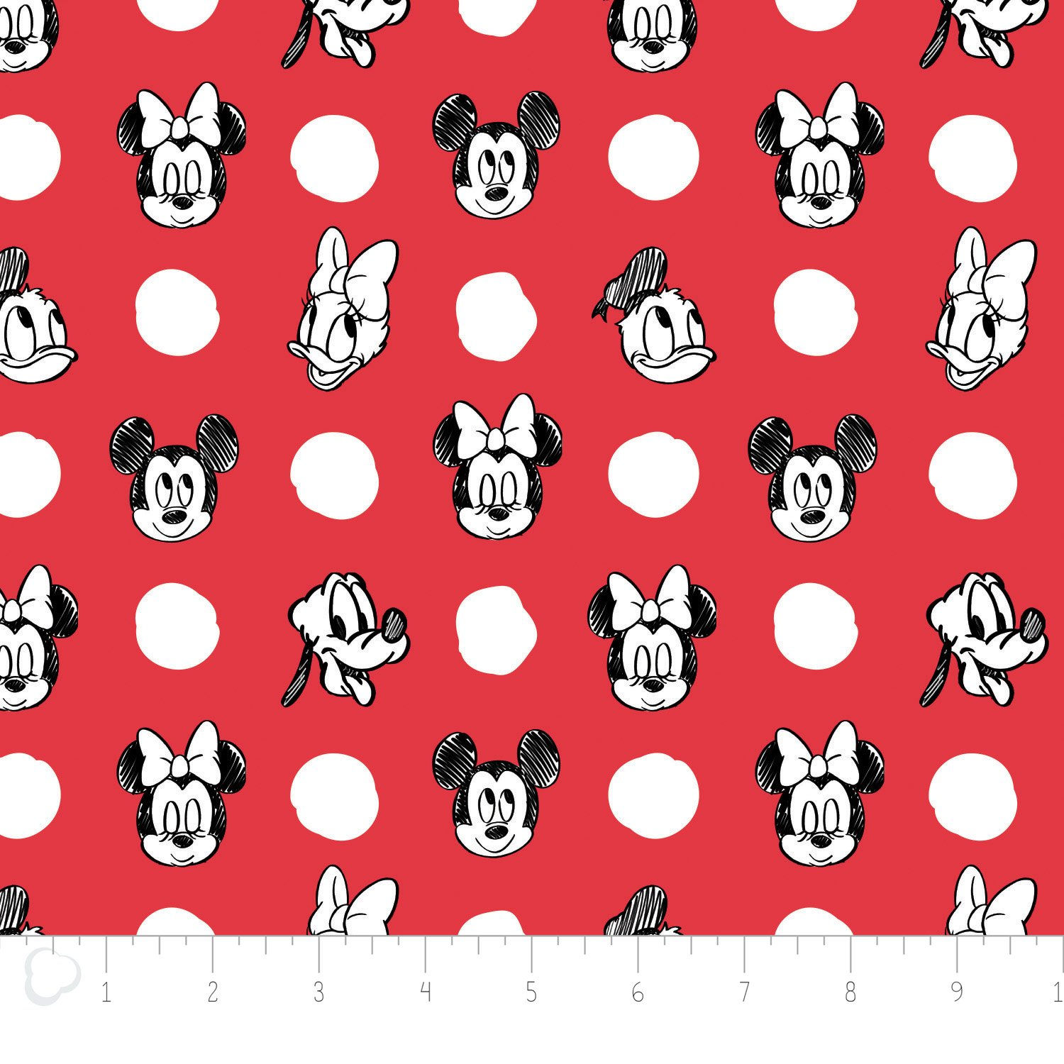 Mickey Red Dots