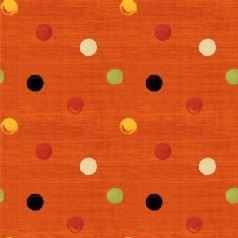 Poppy Love Dots Orange