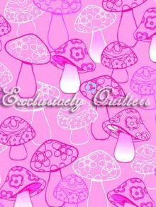 Froggies Pink Mushrooms