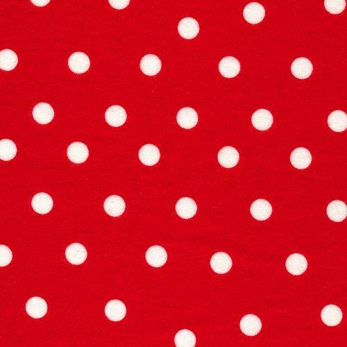 Cuddle Red Poka Dots
