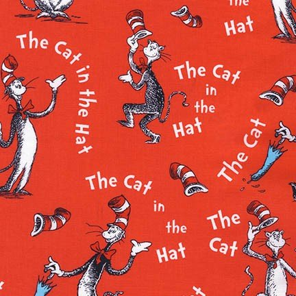 Cat in the Hat Red