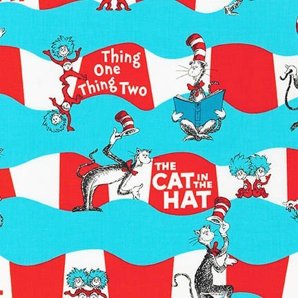 Cat in the Hat Curved Stripe