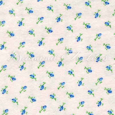 Aunt Polly's Rosebuds Blue