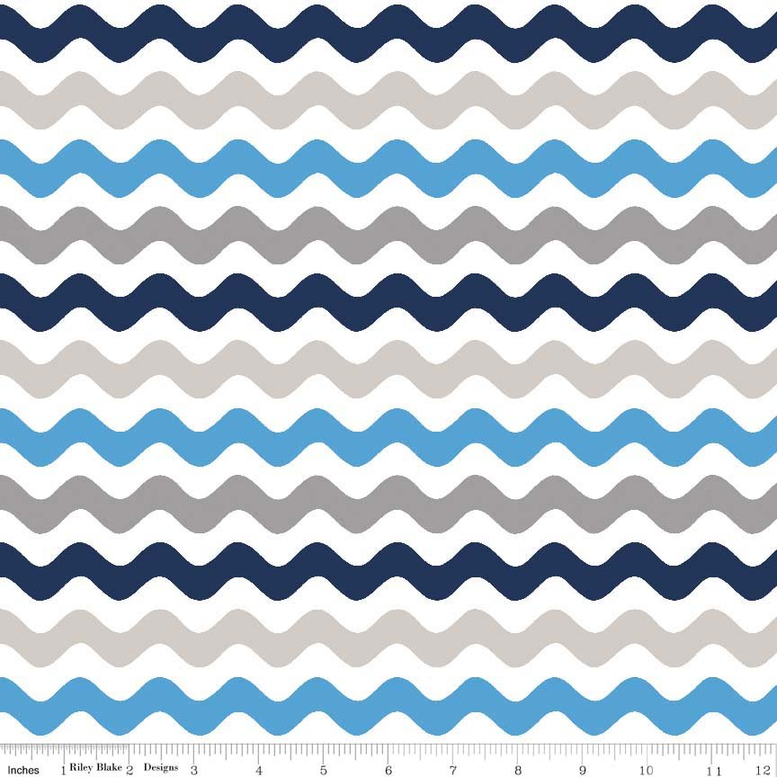 R. Blake Wave Stripe