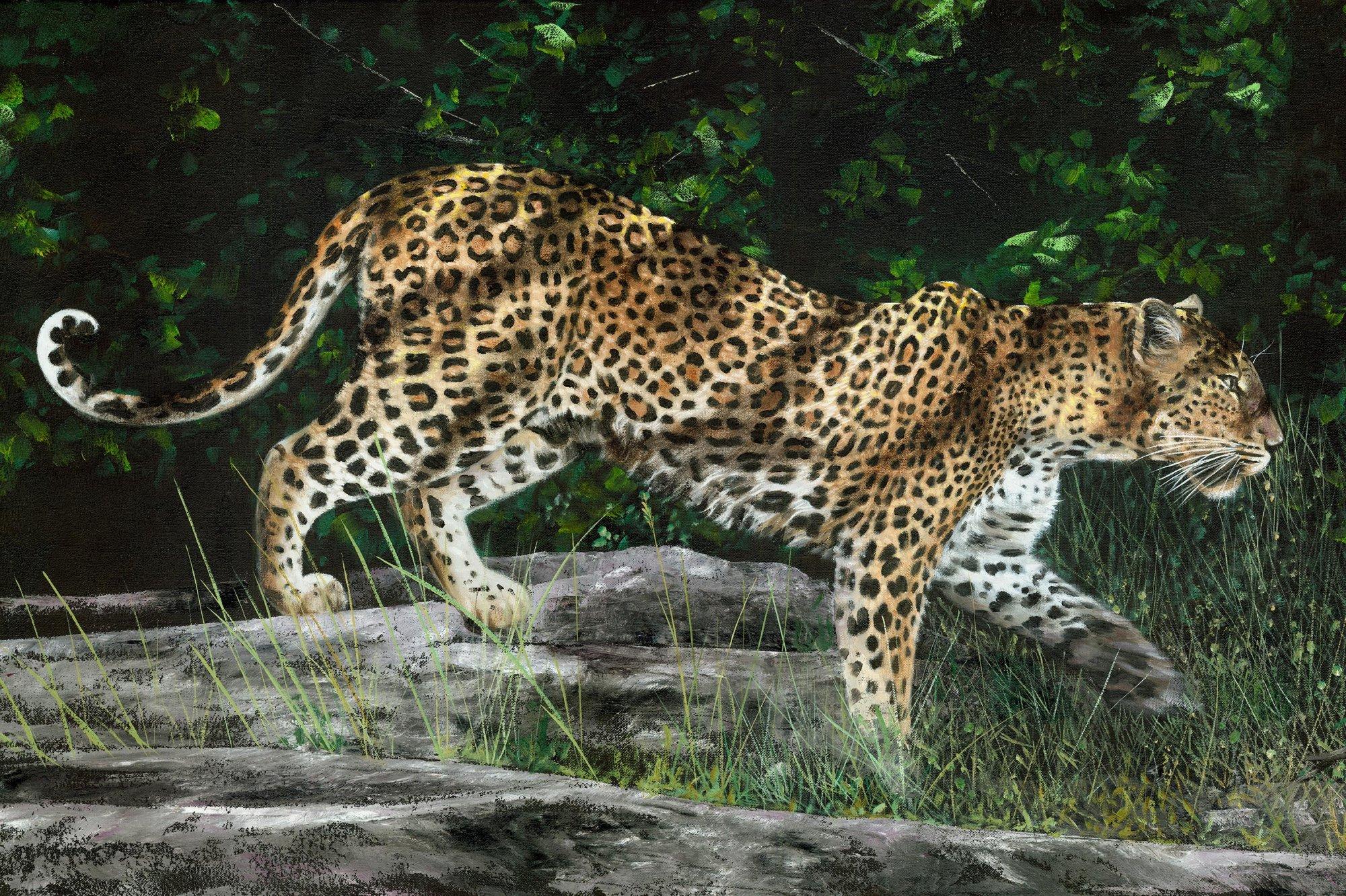 Kotiya Leopard Panel Digital