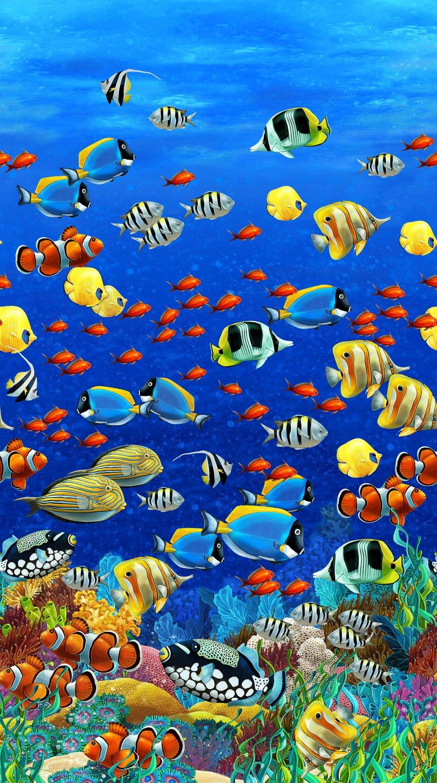 Coral Reef Digital Scene