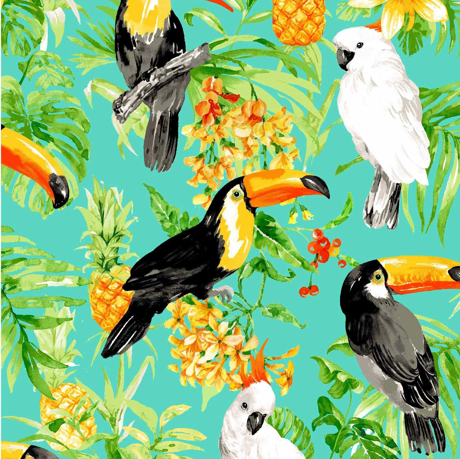 Isle Tropical Birds Jade
