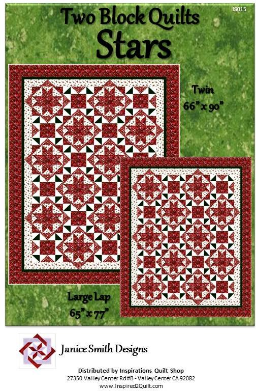Two Block Quilt Stars