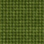 Hounds Tooth Green