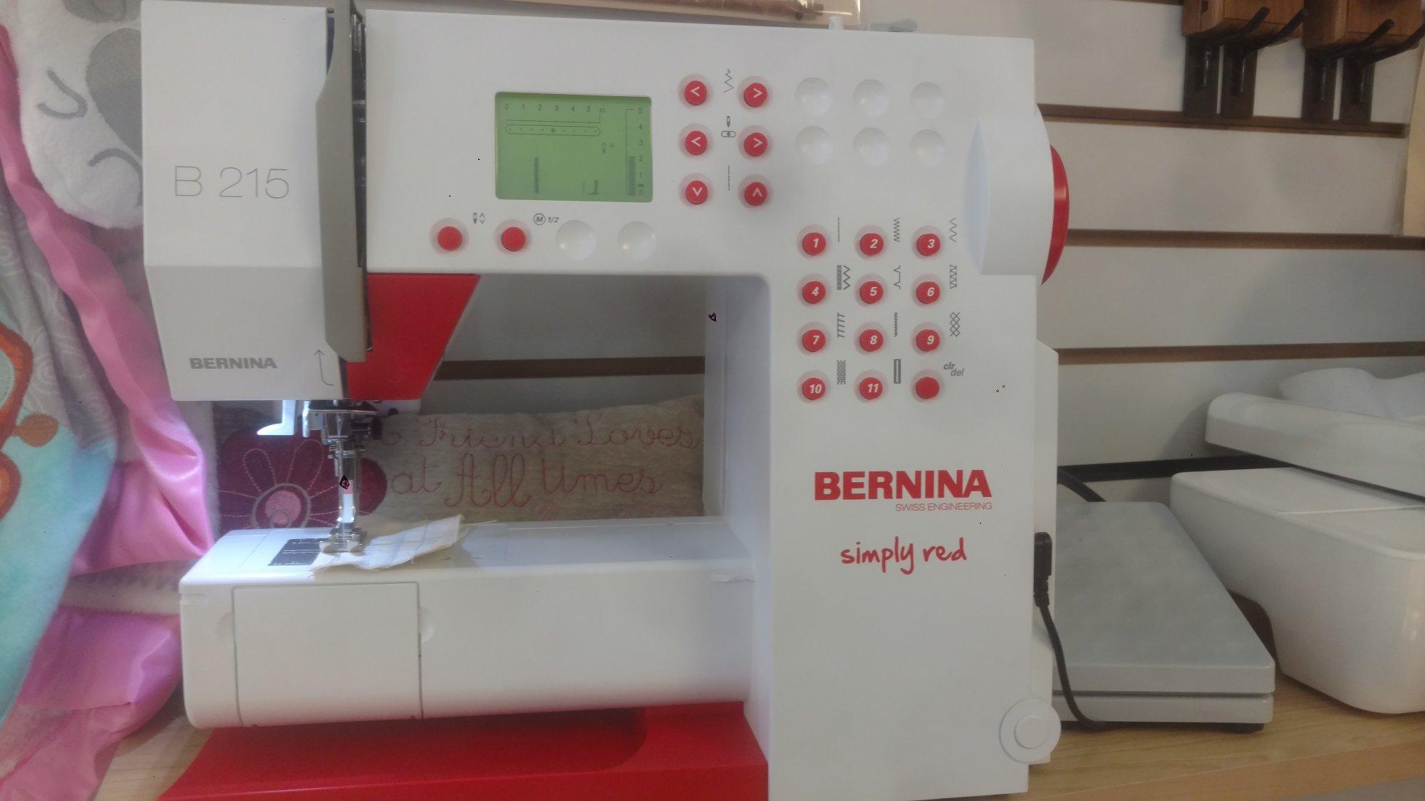 Bernina 215 lightly used