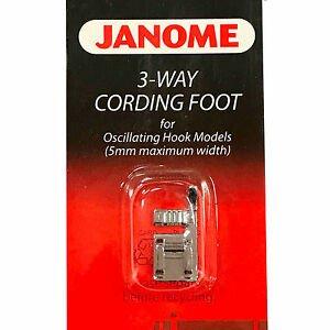 3 Way cording foot