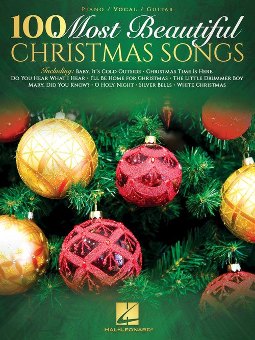 100 Most Beautiful Christmas Songs - P/V/G