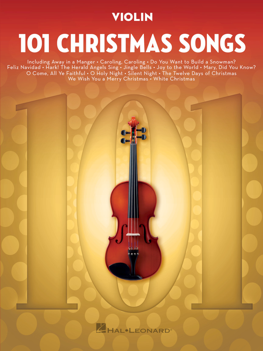 101 Christmas Songs for Violin