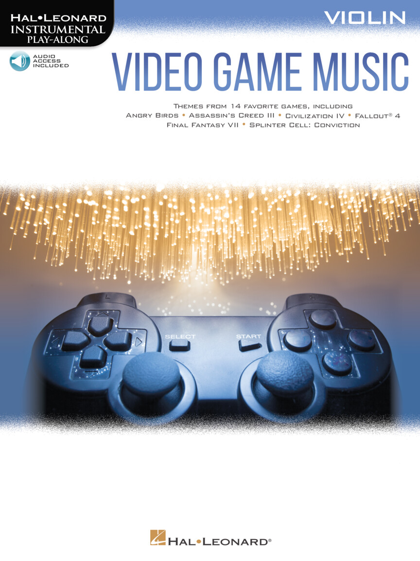 Video Game Music For Violin - Instrumental Play-Along Series