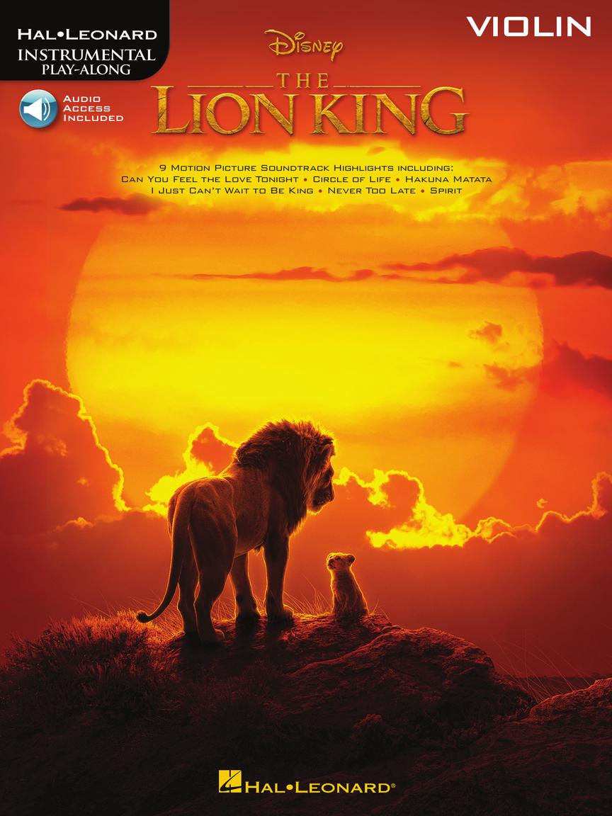 The Lion King for Violin - Instrumental Play-Along