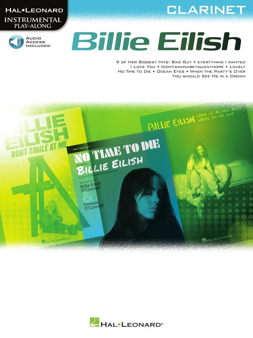BILLIE EILISH Clarinet Instrumental Play-Along Pack