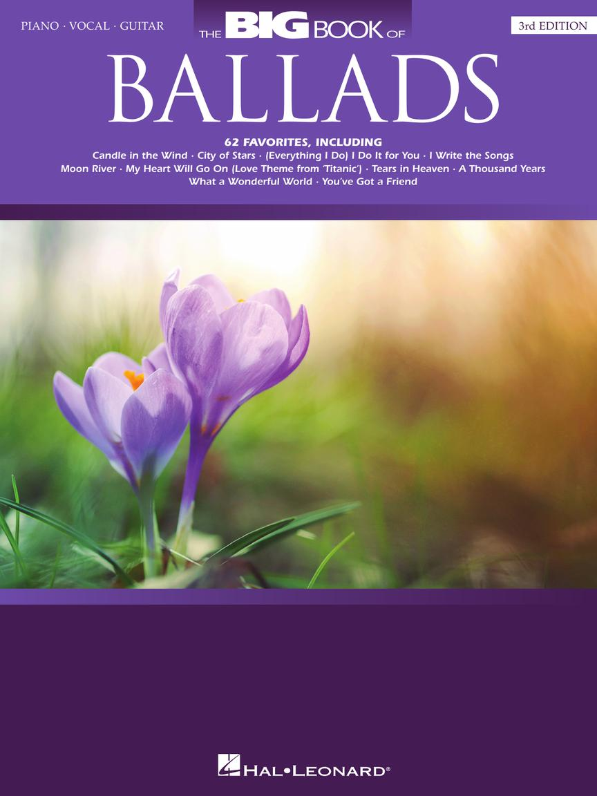 THE BIG BOOK OF BALLADS - 3RD EDITION