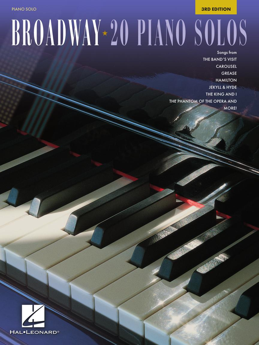 BROADWAY: 20 PIANO SOLOS - 3rd Edition