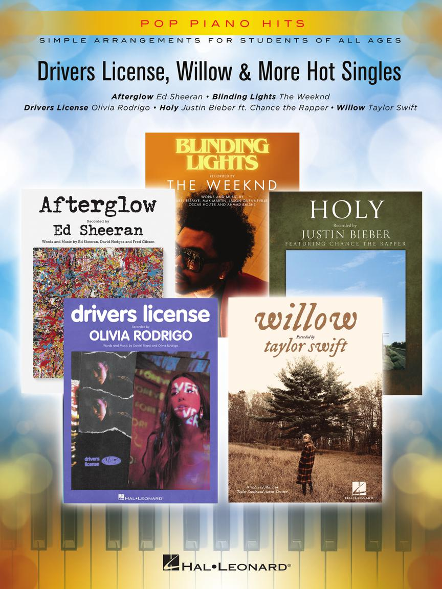 DRIVERS LICENSE, WILLOW & MORE HOT SINGLES - Pop Piano Hits Series