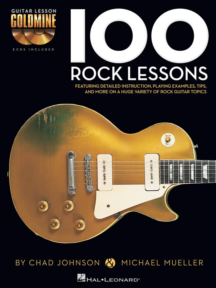 100 Rock Lessons - Guitar Lesson Goldmine Series