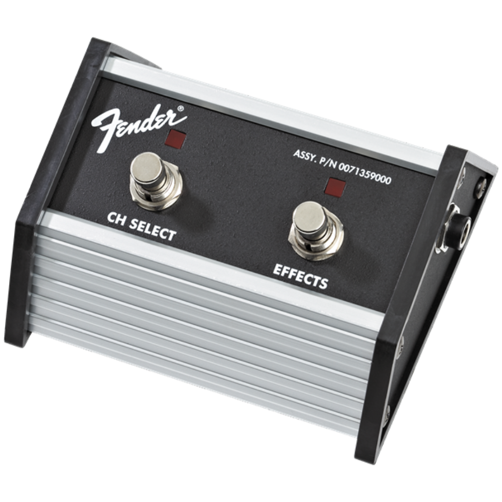 Fender 2-Button Footswitch: Channel Select / Effects On/Off - Champion