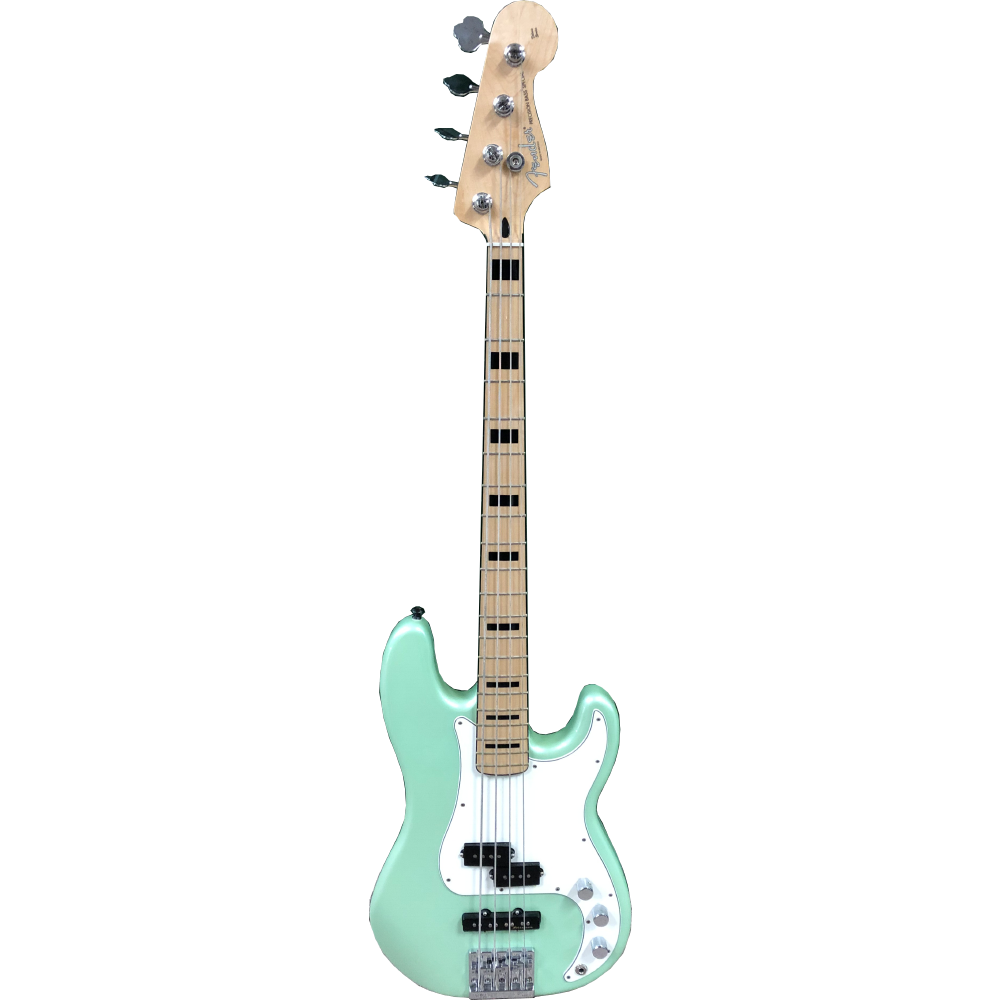 Fender Special Edition Deluxe PJ Bass Sea Foam Green - USED 2016
