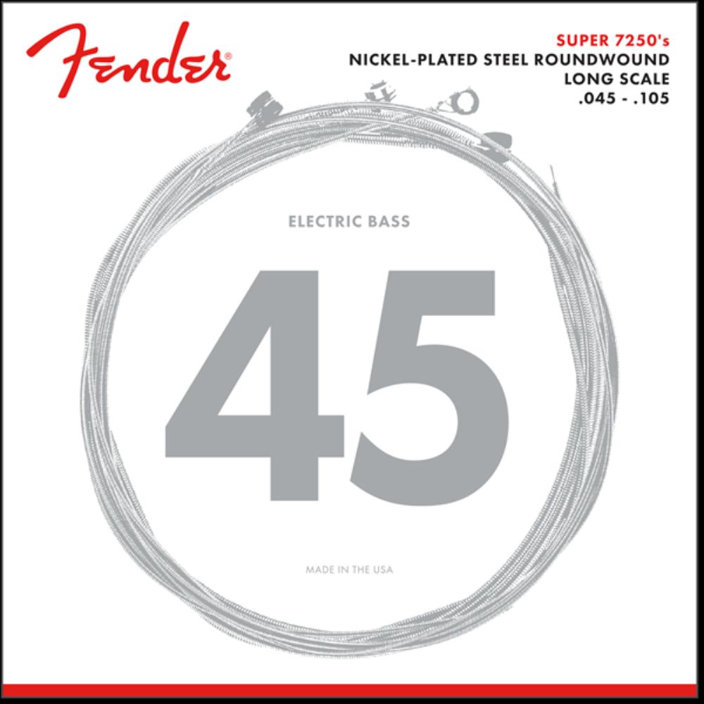 Fender 7250 Nickel-Plated Bass Strings