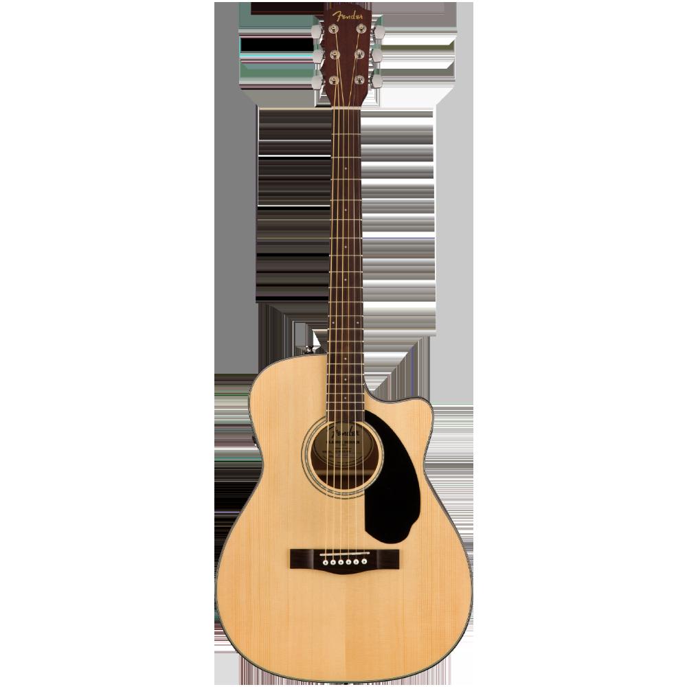 Fender CC-60SCE Concert Cutaway Acoustic-Electric