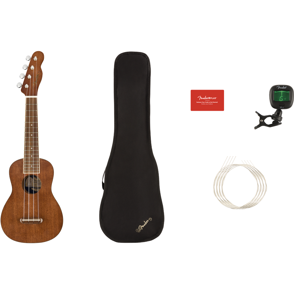 Fender Seaside Ukulele Pack