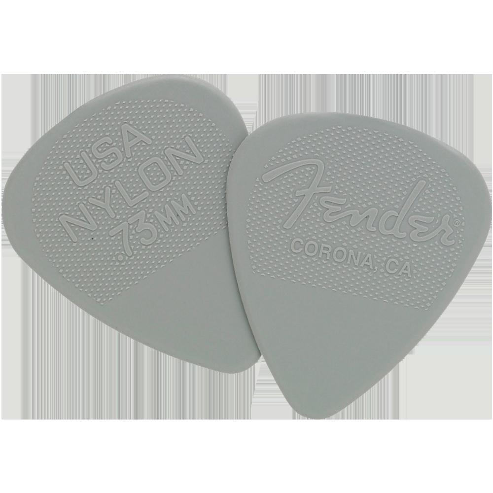 Fender Nylon Picks .73mm - Gray - 12 Pack