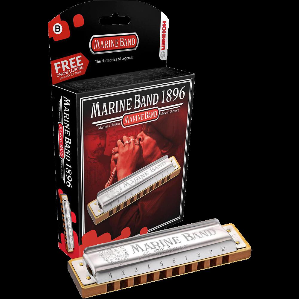 Hohner Marine Band Harmonica Key Of B