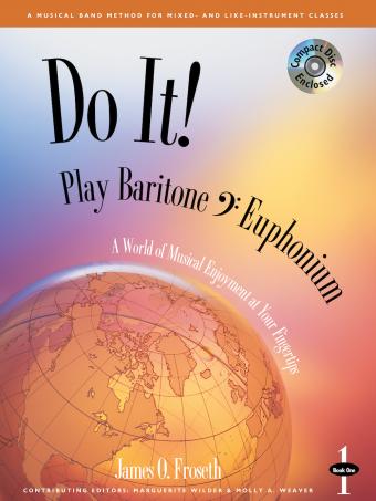 Do It! Play Baritone BC/Euphonium - Book 1 w/CD