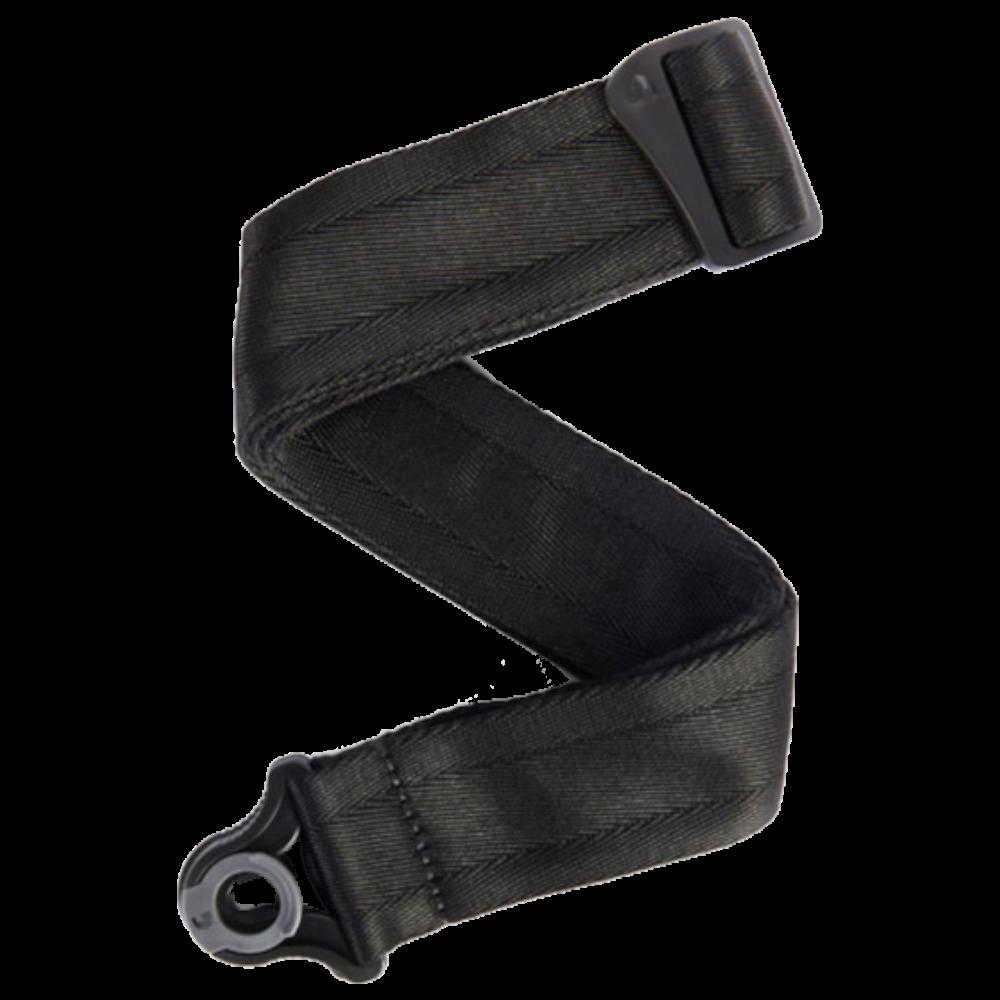 D'Addario Auto Lock Guitar Strap - Black