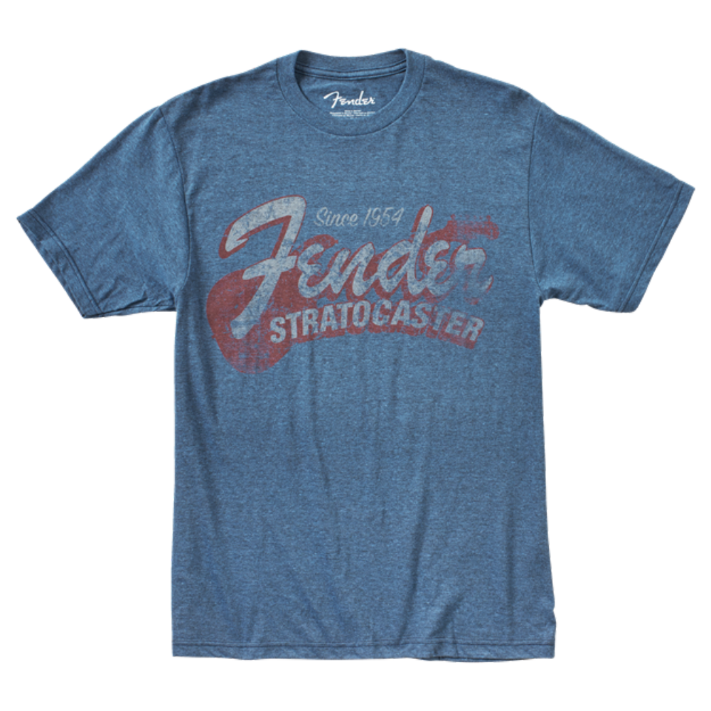 Fender Since 1954 Strat T-Shirt - Blue