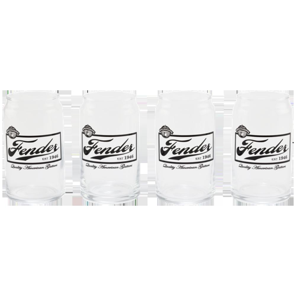 Fender 16oz Beer Can Glasses